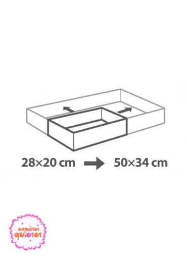 Aro rectangular ajustável
