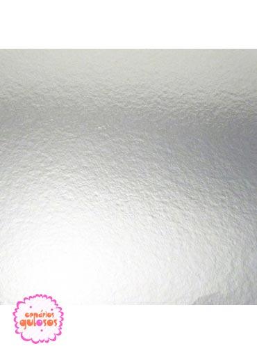Base Prata lisa 40*40cm