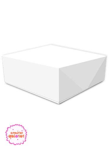Caixa Pastelaria 20x20 cm - 10cxs