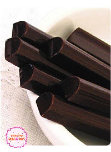 Chocolate em barritas 250gr