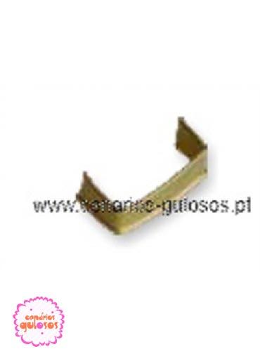 Clip  Metálico ouro 100 und