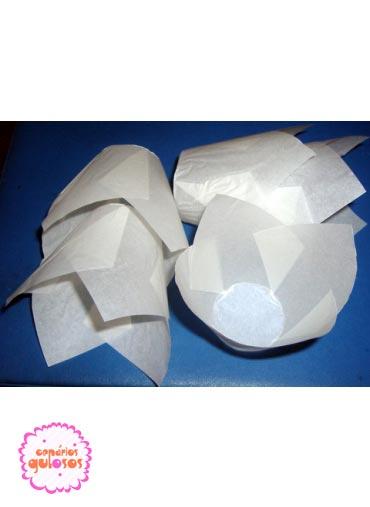 Formas papel branco (50 uni.)
