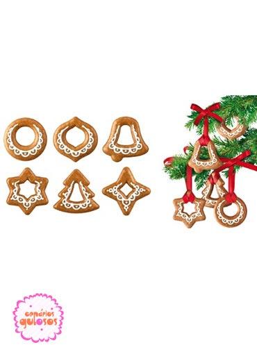 Cortantes para Arvore Natal conj. 6