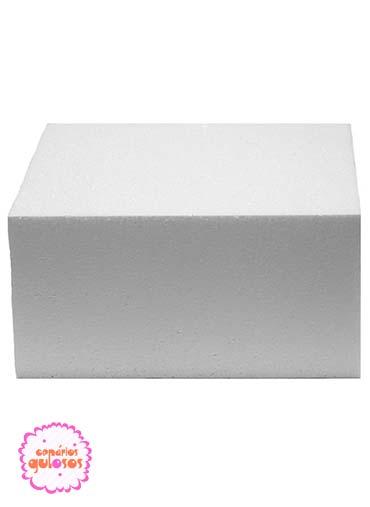 Dummie Cake quadrado 12cm