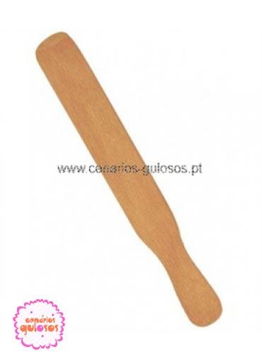 Espátula de madeira Peq.
