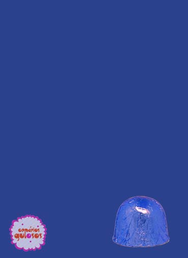 Folha alumínio bombons Azul 18*18cm - 100gr