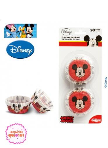 Formas Cupcake Mickey 50 und