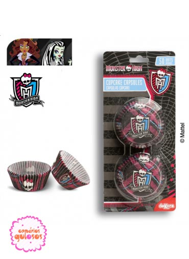 Formas Cupcake Monster high 50 und