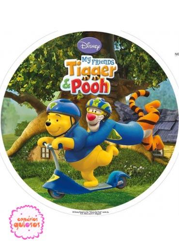 Hóstia Winnie the Pooh 20cm