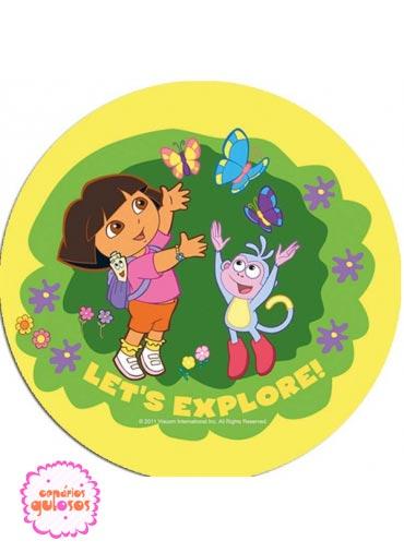 Hóstia da Dora Exploradora