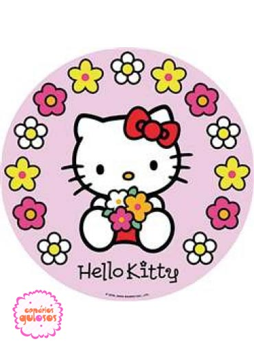 Hóstia da Hello Kitty