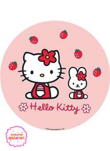 Hóstia da Hello Kitty