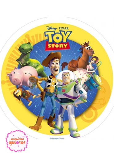 Hóstia do Toy Story