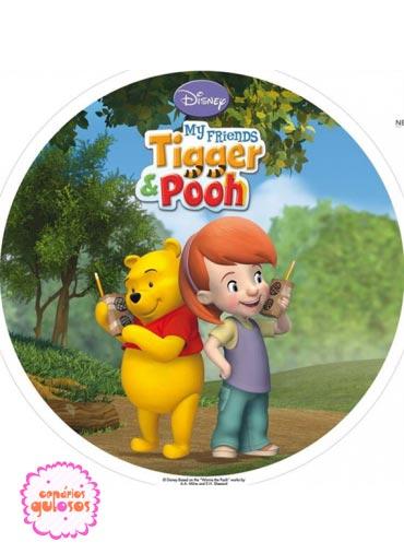 Hóstia do Winnie The Pooh