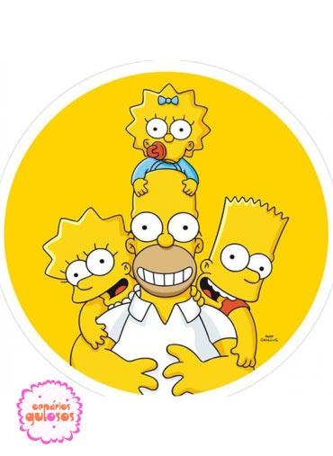 Hóstia dos Simpsons