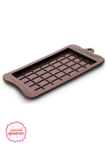 Molde silicone Barra Chocolate