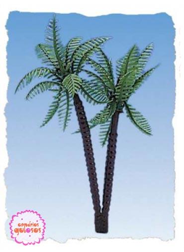 Palmeira 7 cm - conj 2