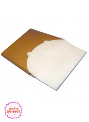 Papel siliconizado 75*45 cm