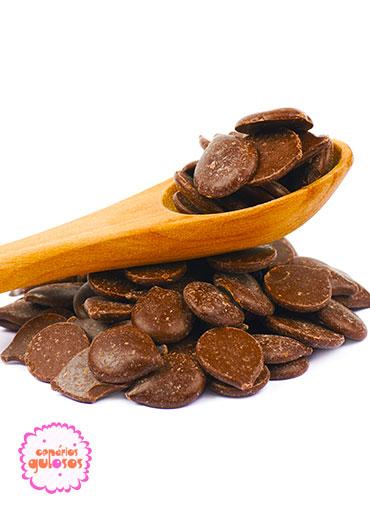Pastilha de Chocolate negro guay 500gr