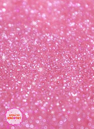 Pó não tóxico Rosa Doce cristal - 35gr