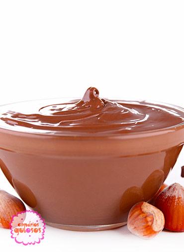 Recheio de Chocolate negro e avelã - 500gr