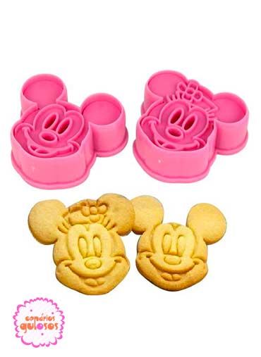 Cortador Mickey/Minnie 3D