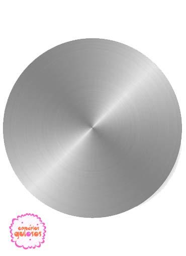 Forma redonda 12cm