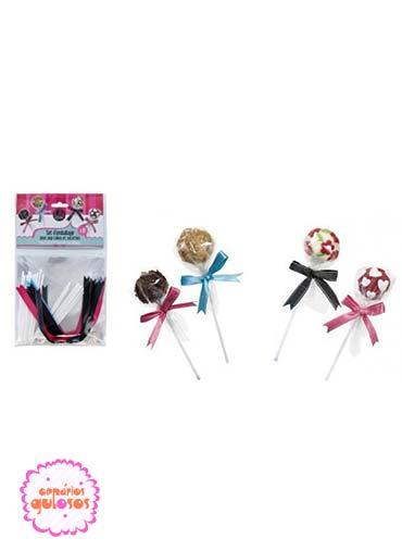 Conjunto embalar Cakepops/Lollipops