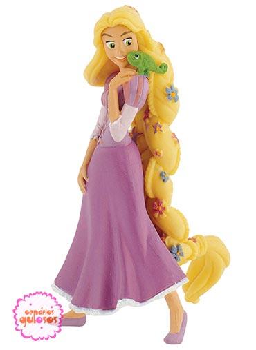 Rapunzel em pé PVC
