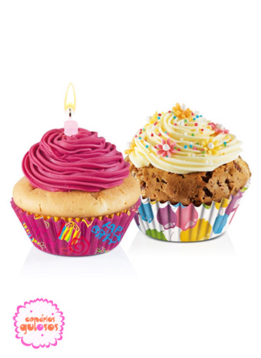 Formas Papel cupcakes Festa conj.60