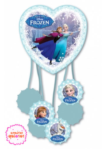 Pinhata papel - Frozen
