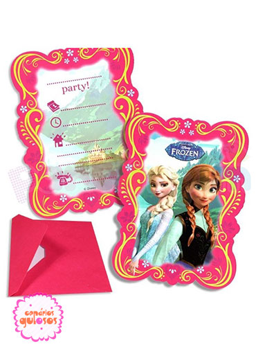Convites Frozen - 6 und