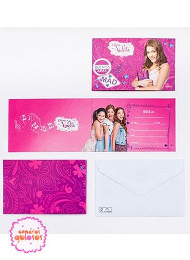 Convites Violetta - 6 und