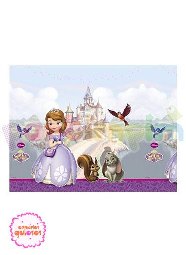 Toalha PVC Princesa Sofia - 1.20mt x1.80mt