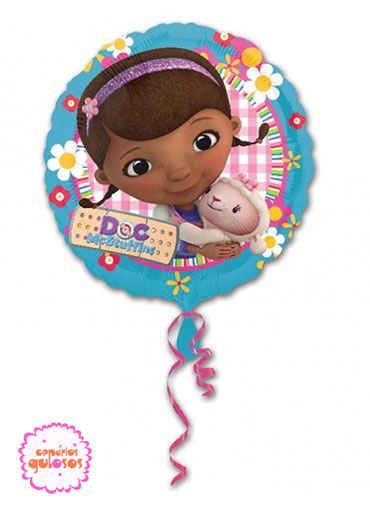 Balão Redondo Doutora Brinquedos - 43cm