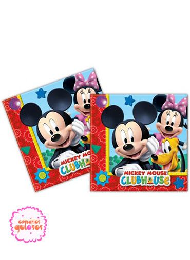 Guardanapos Mickey - 20 und