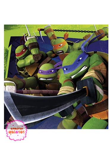 Guardanapos Tartarugas Ninja - 20 und