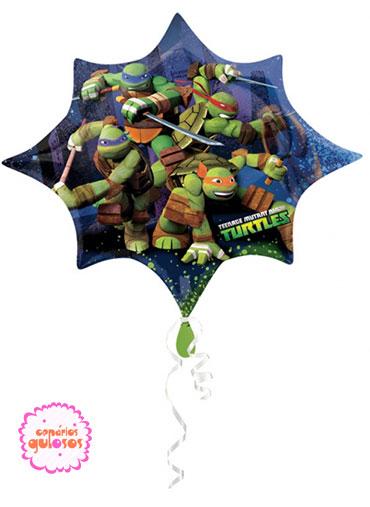 Balão Tartarugas Ninja - 88cm x 73cm