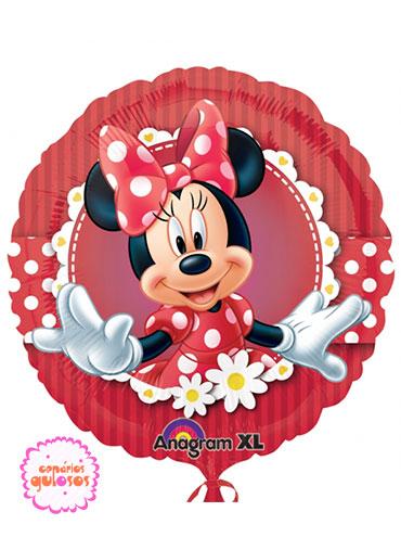 Balão redondo Minnie - 43cm
