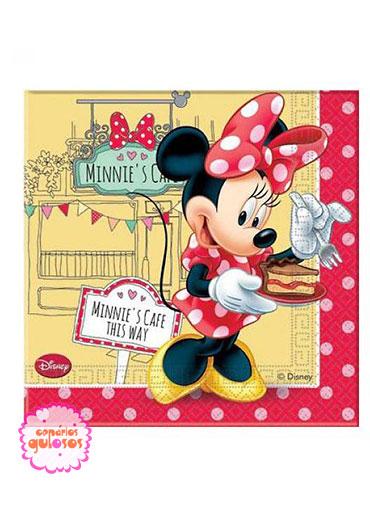 Guardanapos Minnie Café - 20 und