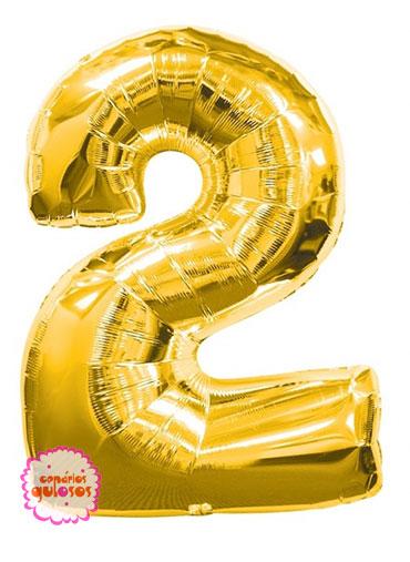 Balão Ouro nº 2