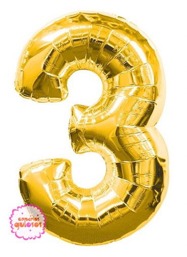 Balão Ouro nº 3