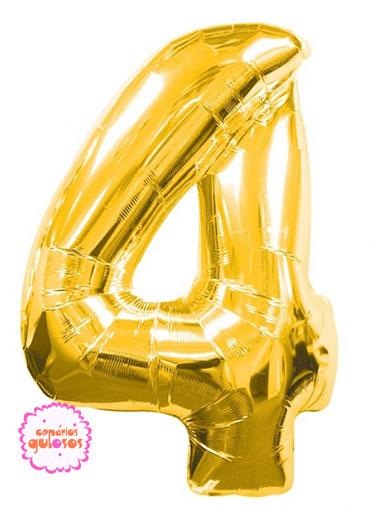 Balão Ouro nº 4