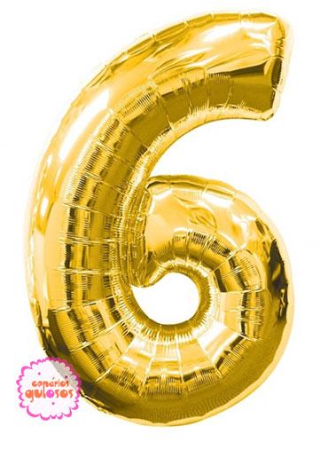 Balão Ouro nº 6