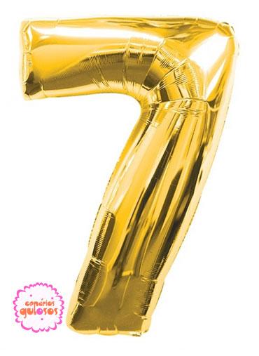 Balão Ouro nº 7