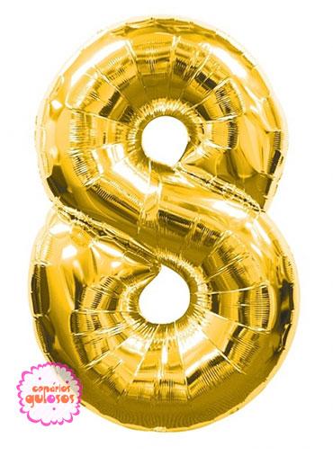 Balão Ouro nº 8