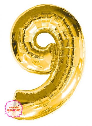 Balão Ouro nº 9