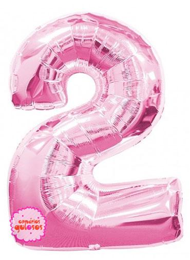 Balão Rosa Choque nº 2