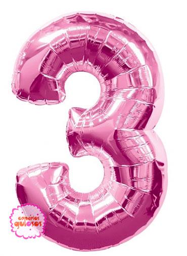 Balão Rosa Choque nº 3