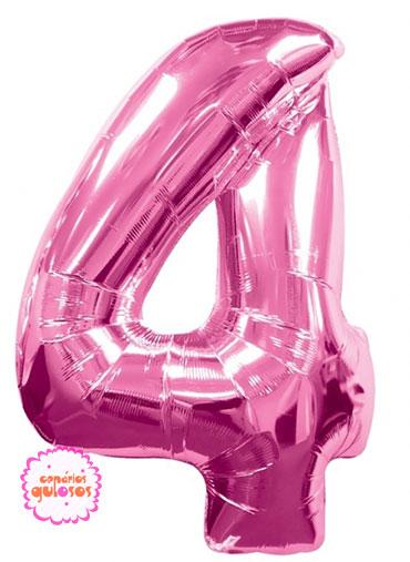 Balão Rosa Choque nº 4